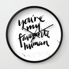 Favourite Wall Clock
