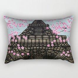 The Eiffeltower Rectangular Pillow