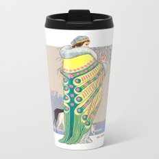 Art Deco 3 Metal Travel Mug