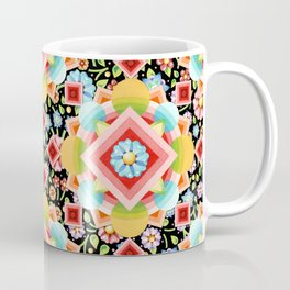 Geometric Chintz Mandala Coffee Mug