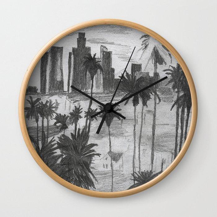 L.A. City Wall Clock
