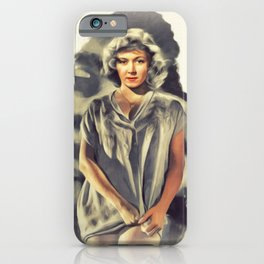 Gloria Grahame, Vintage Actress iPhone Case