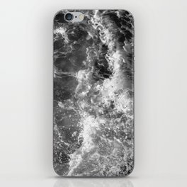 Ocean Glow - Black and White Nature Photography iPhone Skin