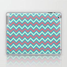 Tricolor Chevron 3 - more colors Laptop & iPad Skin