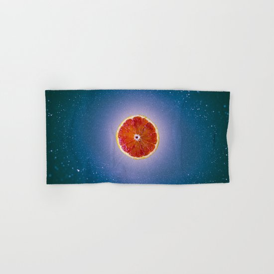 Orange sky 4 Hand & Bath Towel