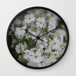 Floating with the wind Wall Clock