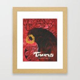 Taurus The Bull  Framed Art Print