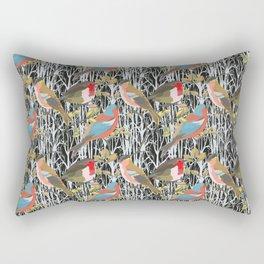 Birds and Trees Rectangular Pillow