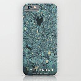 Hyderabad, India - Cream Blue iPhone Case