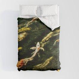 Upstream Dream Nature Portrait by Jeanpaul Ferro Comforters