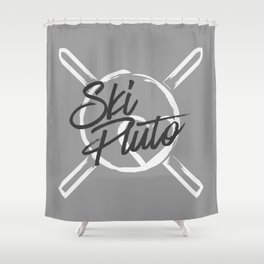 Ski Pluto Shower Curtain