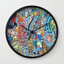 34 Days Wall Clock