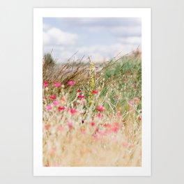 Aquarelle dreams of nature Art Print
