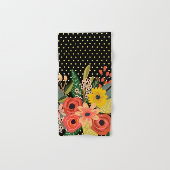 Flowers bouquet #2 Hand & Bath Towel