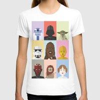 sci fi T-shirts featuring Sci-Fi Collage by FioMedina