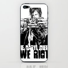 If Daryl Dies We Riot iPhone & iPod Skin
