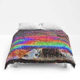 Oily Rainbow Comforters