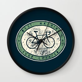 Bicycle - Best Machine Ever Created Wall Clock