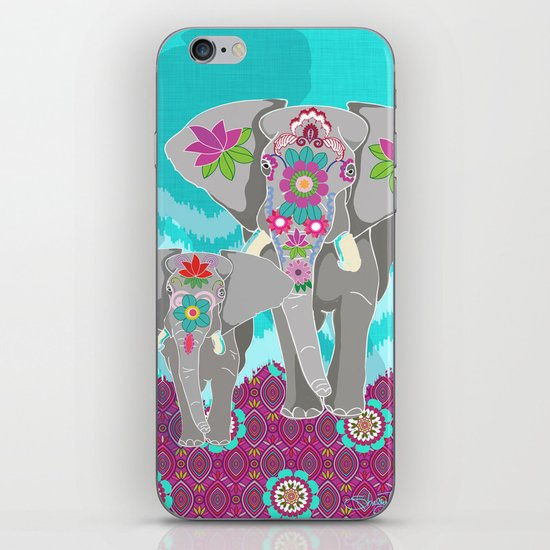 Elephant Festival iPhone & iPod Skin
