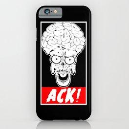 ACK! iPhone Case