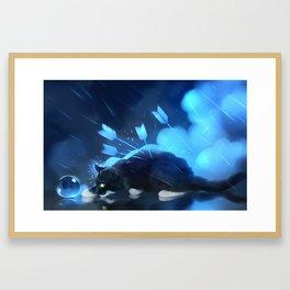 Light stranded Framed Art Print