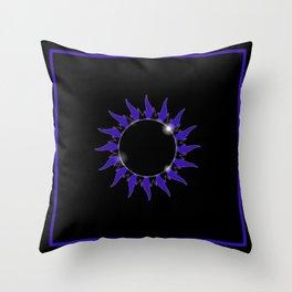 AP Black Throw Pillow