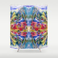 africa Shower Curtains featuring Africa by CrismanArt