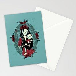 Skeleton Mother & Child - Dia de los Muertos Stationery Cards