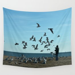Feed Time Wall Tapestry