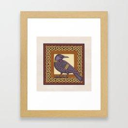 Cornix - Crow Framed Art Print