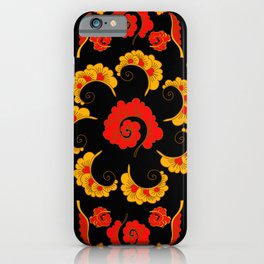 Traditional russian folk iPhone Case