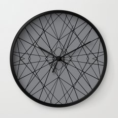 Snow Flake Wall Clock