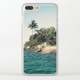 Lost Paradise Off the Coast of Ilha Grande, Brazil Clear iPhone Case