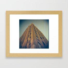 Medical Arts Building angle Framed Art Print