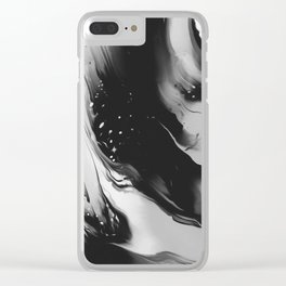 THE DAWN Clear iPhone Case