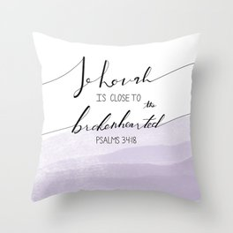 Psalms Throw Pillow