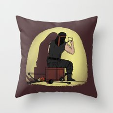 Bow and Arrow is Better Throw Pillow