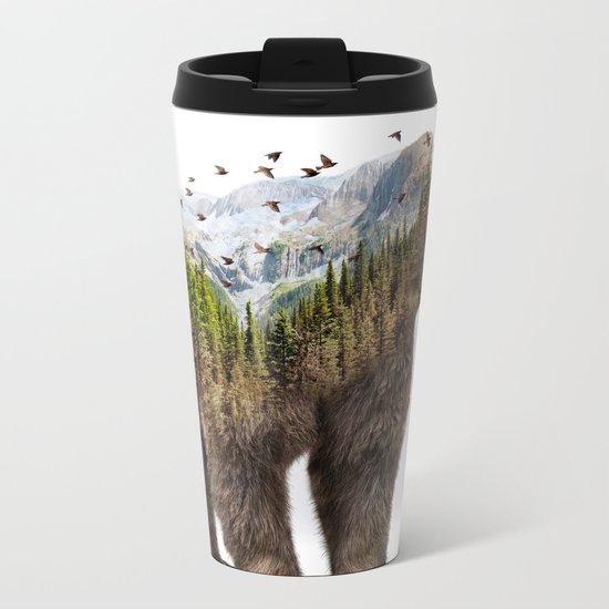 Wild I Shall Stay   Bear Metal Travel Mug