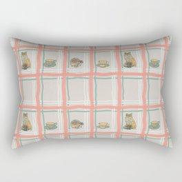 The Fox and The Hedgehog #1 Rectangular Pillow