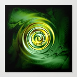 Eye of the Serpent Abstract Canvas Print