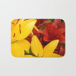 """A Gathering of Lilies"" - 4 [D4469~57] Bath Mat"