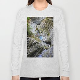 Curves Of Time Long Sleeve T-shirt