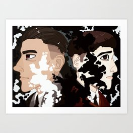 Smoke and Obscurials Art Print