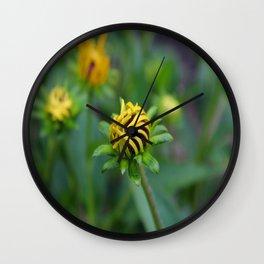 Rudbeckia hirta (horizontal) Wall Clock