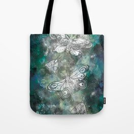 Night Moths Tote Bag