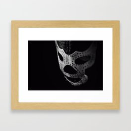El Luchador - The Wrestler Framed Art Print