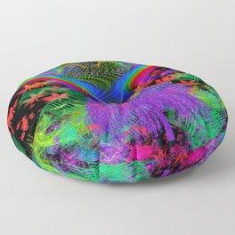 Willow Haze Vortex Floor Pillow