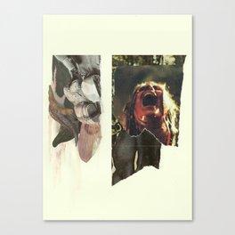 24 Bullets Vs 24 Wolves Canvas Print