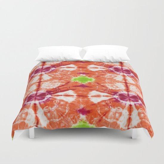 Mango Bloom Duvet Cover