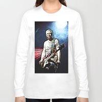 u2 Long Sleeve T-shirts featuring U2 / Adam Clayton by JR van Kampen